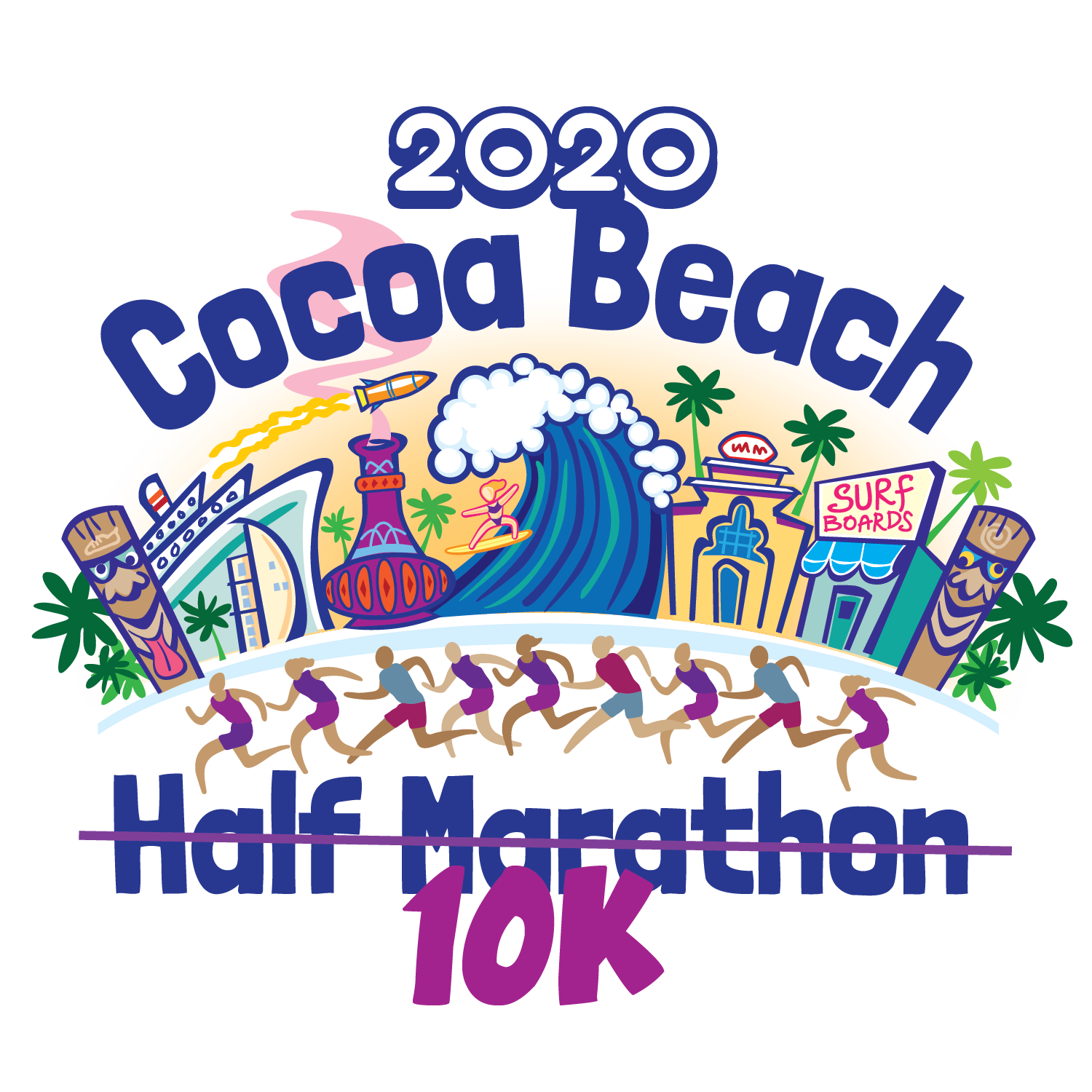 Cocoa Beach Half Marathon Sunday October 11th 2020